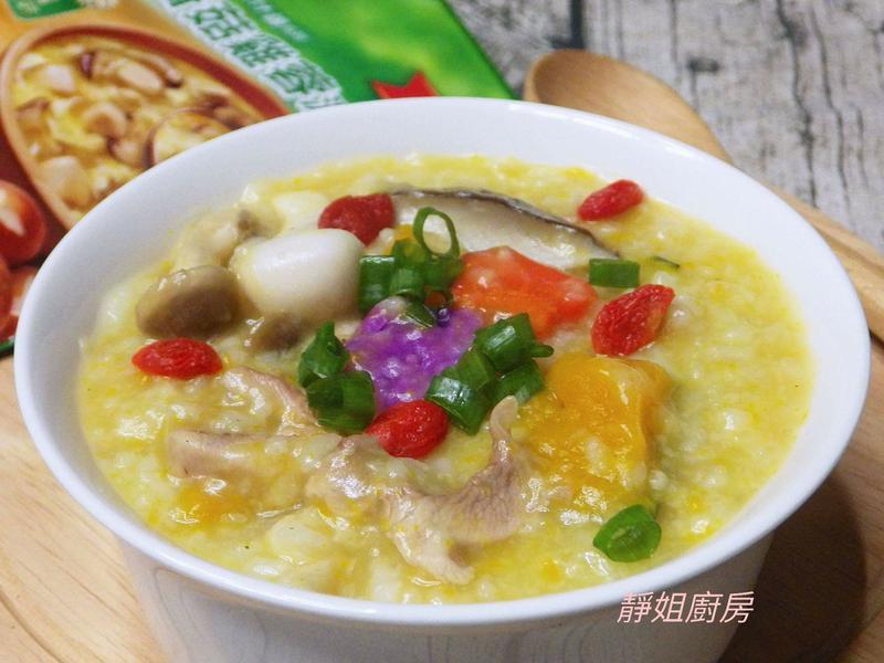 膳食香菇雞蓉暖暖粥
