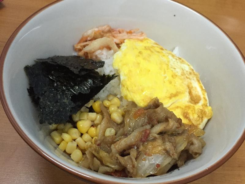 烤肉飯。❤️韓式