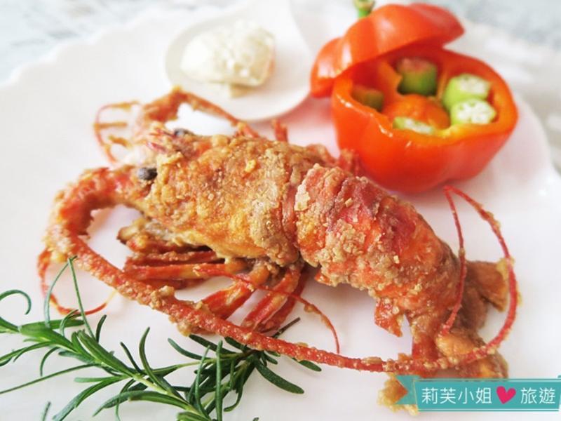 30分鐘快速上菜之酥脆軟殼龍蝦大餐
