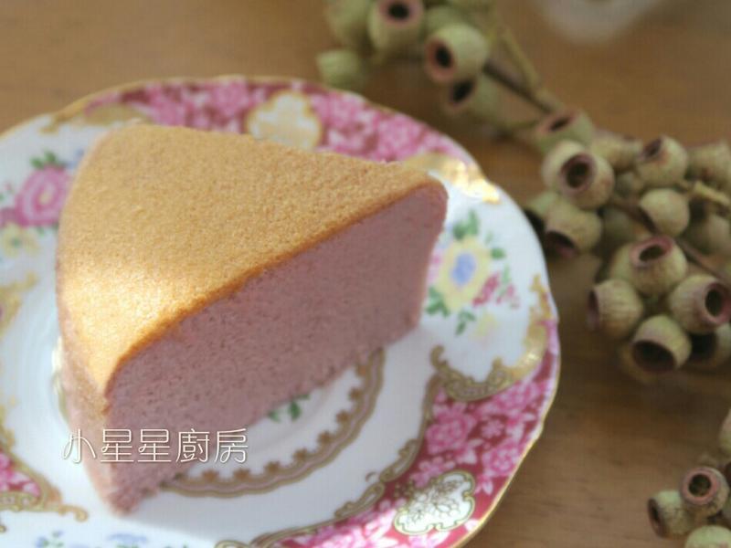 紫薯棉花蛋糕