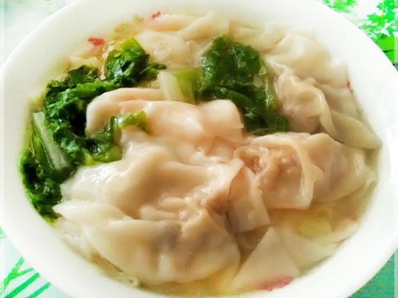 豆腐餛飩〞(降低熱量的內餡)