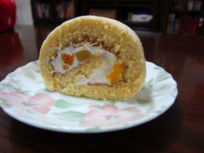 ♥我的手作料理♥ 香橙蛋糕捲