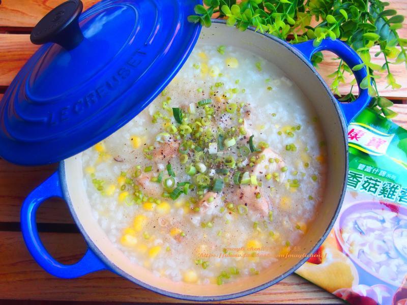 雞肉玉米粥
