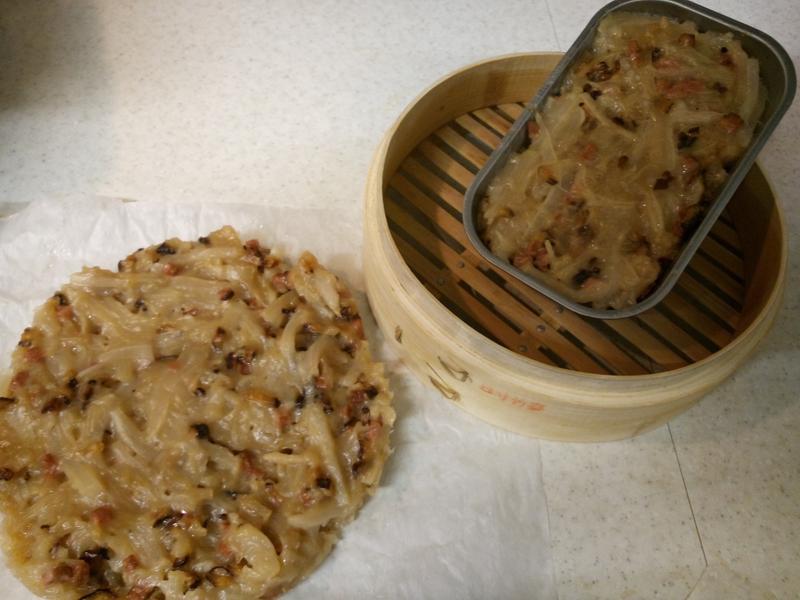 蔬食蘿蔔糕(大同電鍋板)