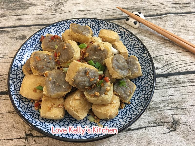 椒鹽魚肉釀豆卜