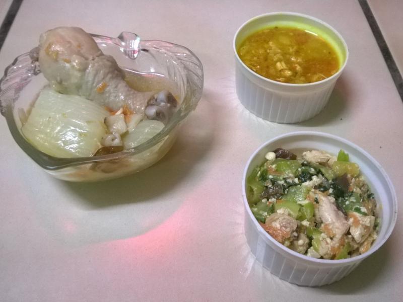 鮮食🐾白菜香菇雞湯 湯咖哩 青江豆腐雞