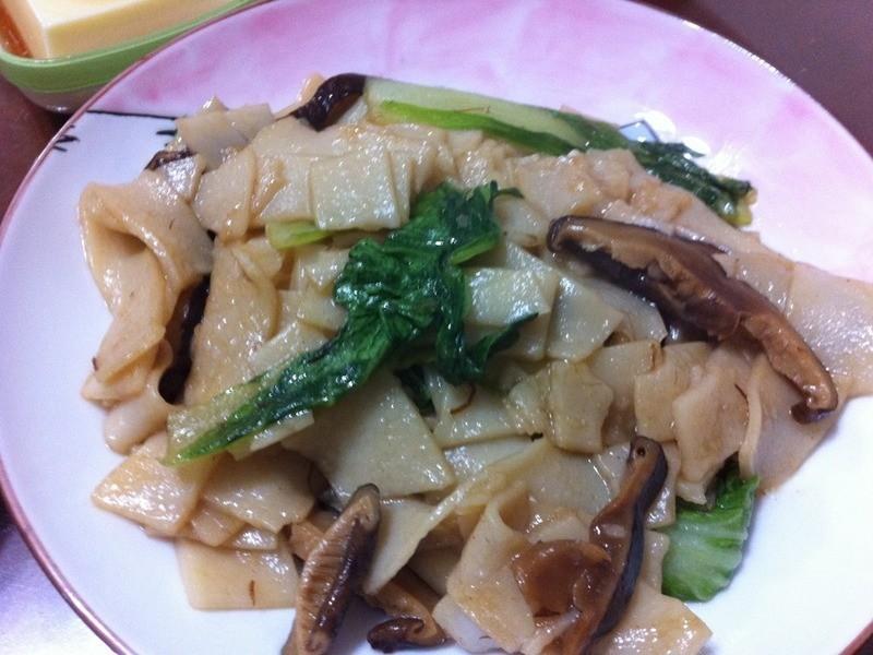 米奇廚房@香菇炒板條
