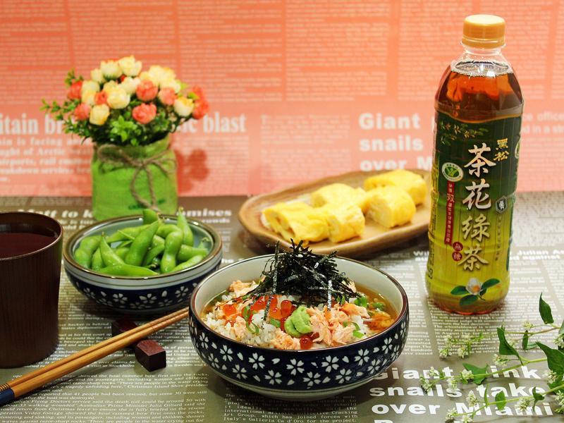 鮭魚茶泡飯【黑松】
