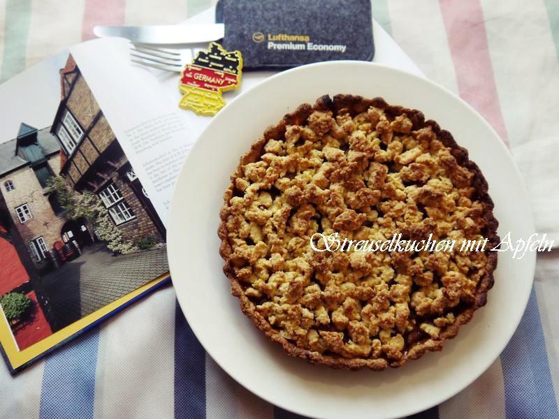 德國 碎麵粒蘋果蛋糕