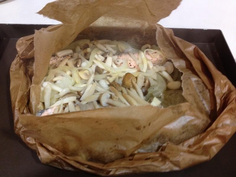 小艾寶上菜:紙包鮭魚