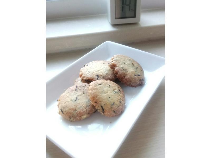 ❤烤箱料理❤令人沉脆的紅茶香曲奇