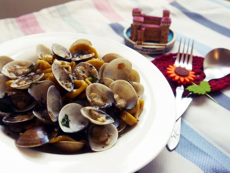 白酒蛤蜊麵,Clam Pasta