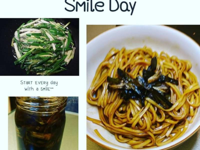 上海蔥油拌麵(自制蔥油)