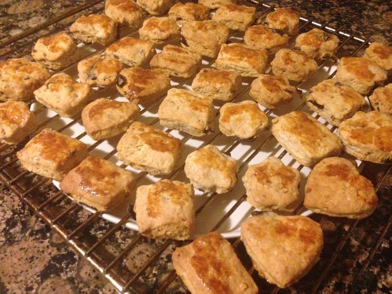 黑橄欖核桃餅乾