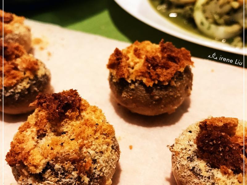 宴客自食兩相宜 烤蘑菇