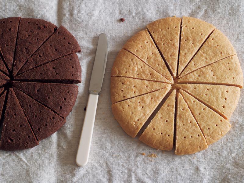 東販小食堂:香草及可可奶油酥餅