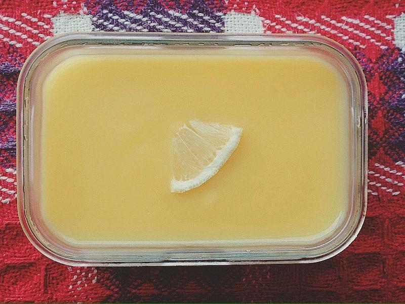 保鮮盒檸檬塔懶人版