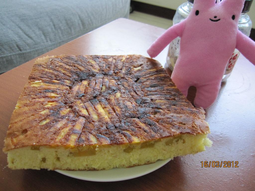 蜂蜜地瓜蛋糕