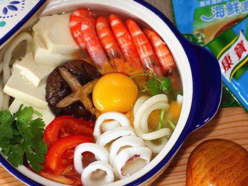 海鮮豆腐烏龍麵