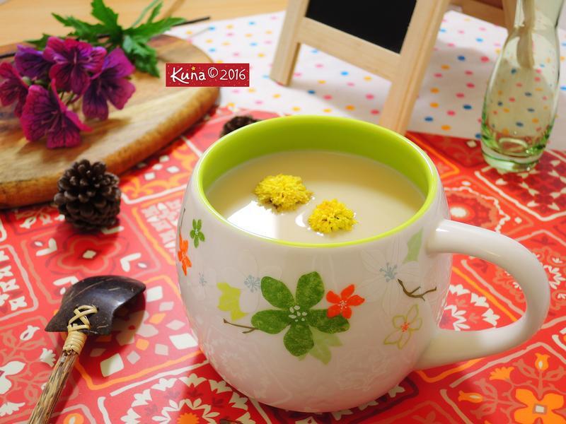 鍋燒杭菊奶茶 [影片示範]