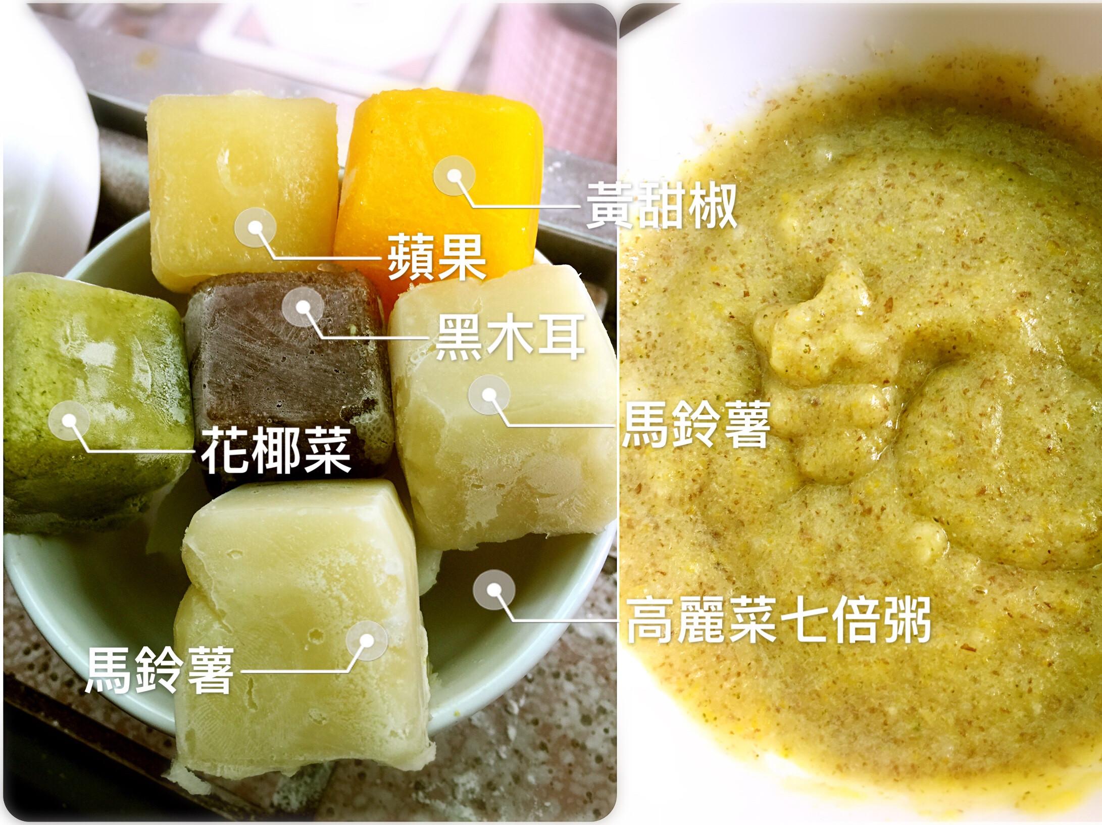 椪柑1118副食品(冰磚)(六個月)