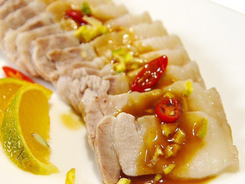 【厚生廚房】香檬醬汁白肉
