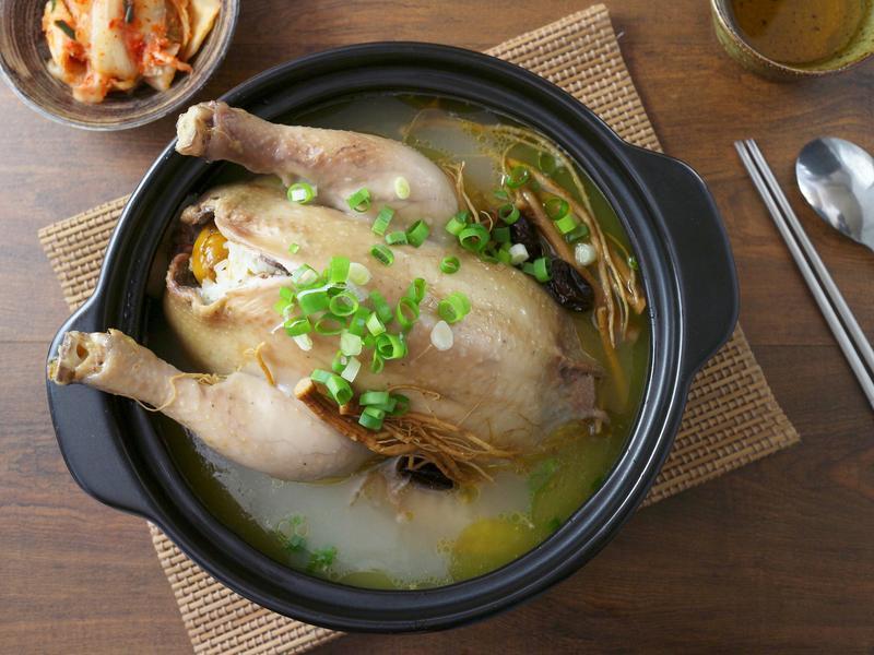 韓式人蔘雞湯鍋
