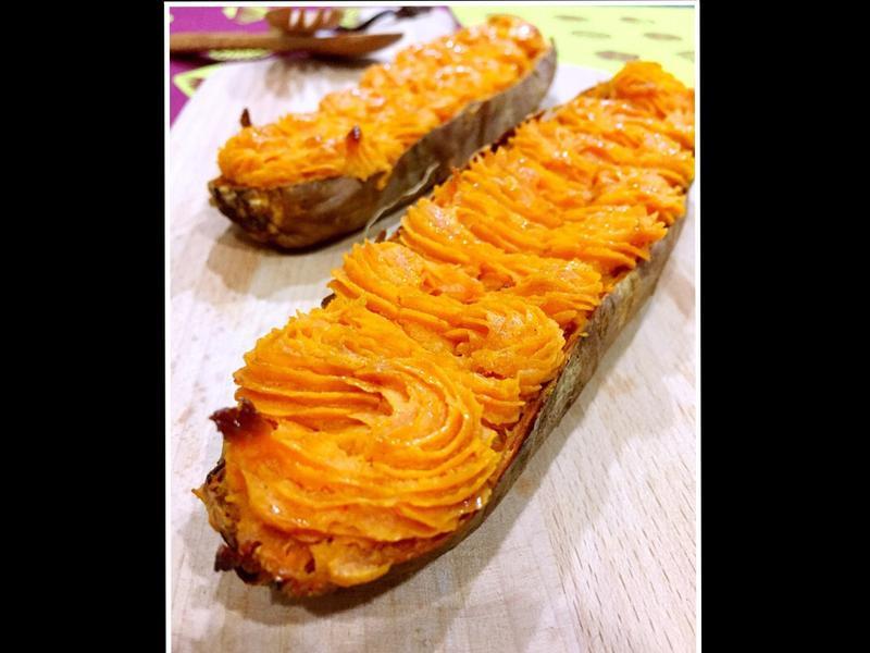 秋旬風味烤甜薯(地瓜)