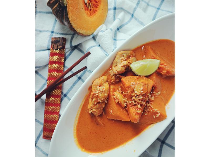 椰香黃咖喱雞