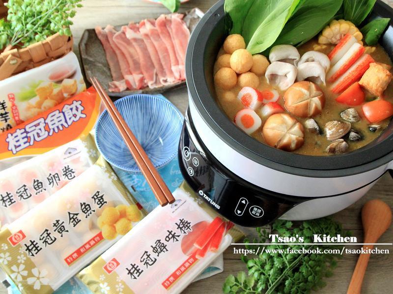 咖哩豬肉涮涮鍋【大同複合料理無水鍋】