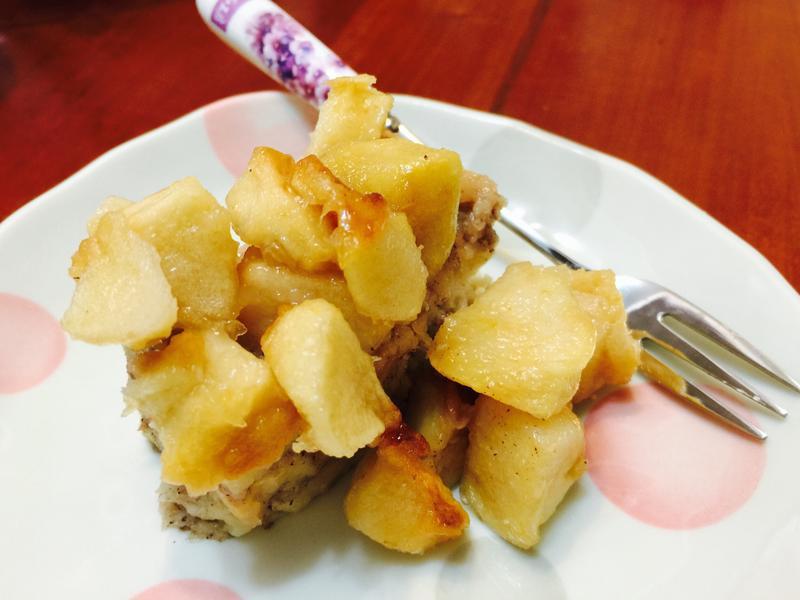 一口接一口:肉桂蘋果蛋糕