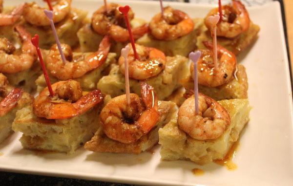 西班牙蝦蛋餅