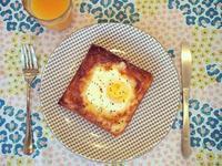 簡易 早餐 | 太陽蛋 吐司