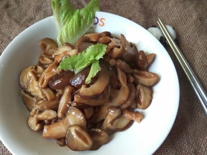 5分鐘上菜─蠔油炒香菇(素食可吃)