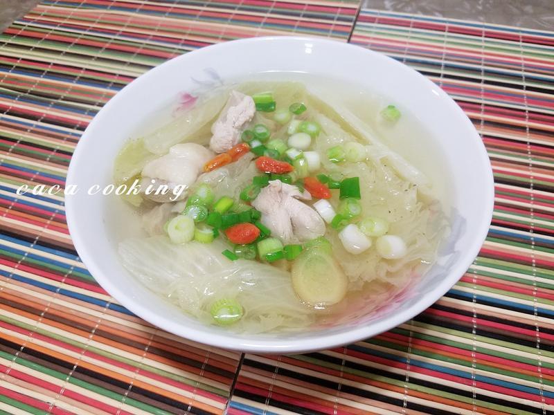大白菜雞湯
