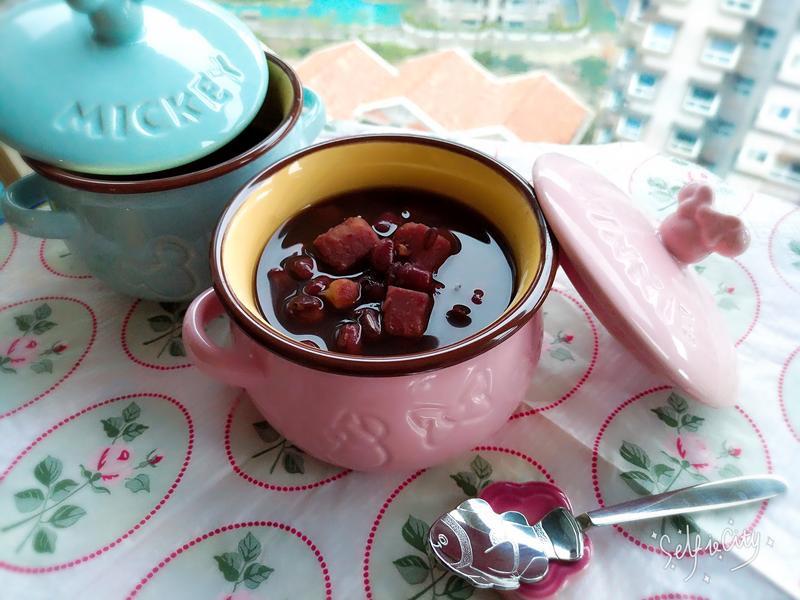 紫米芋頭紅豆湯