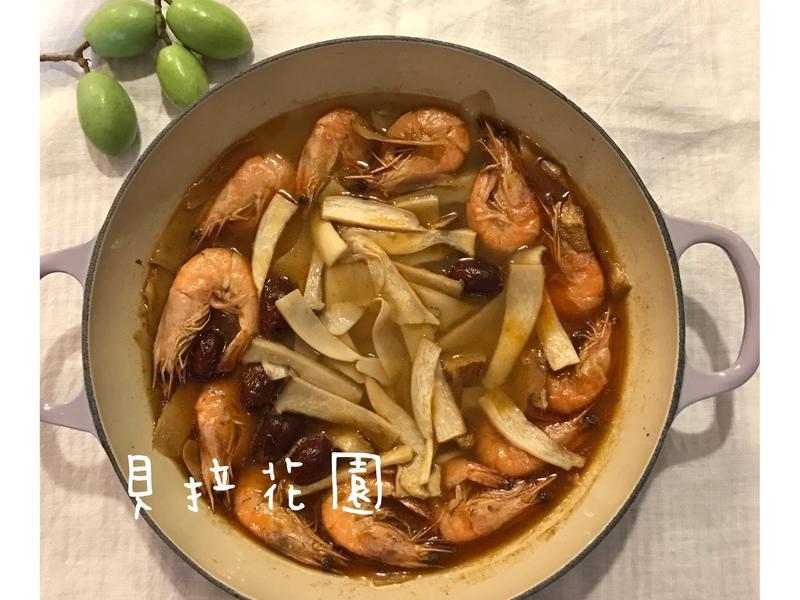 濃情麻油蝦
