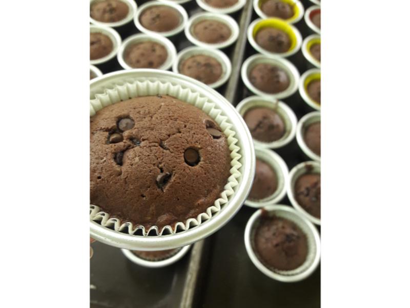懶人版巧克力瑪芬