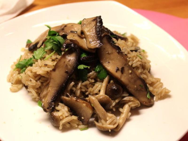 波特貝勒菇燉飯
