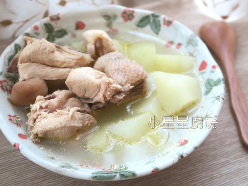 青木瓜雞湯