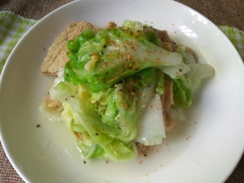 10分鐘上菜─腐皮白菜(素食可吃)