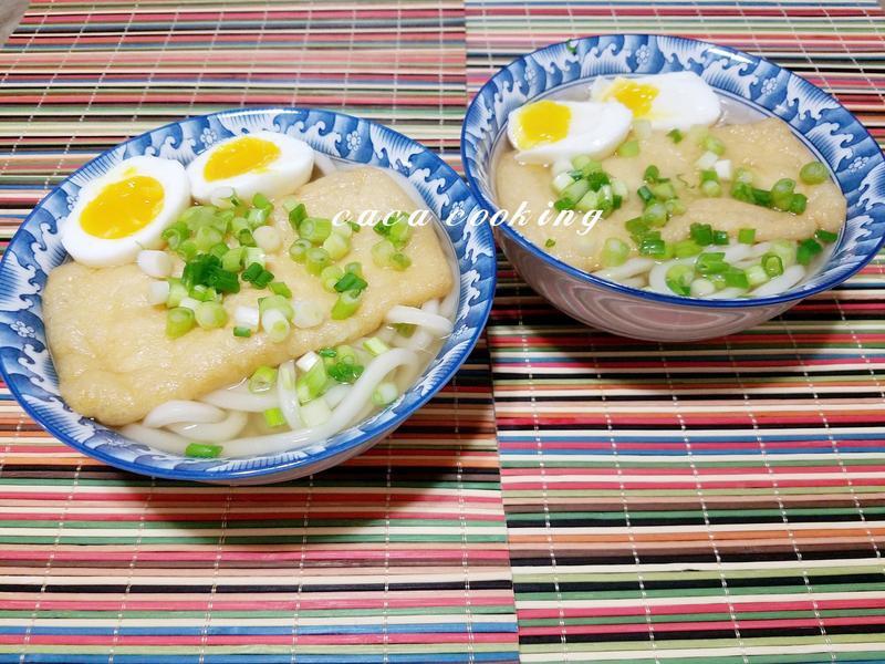 日式清湯烏龍麵