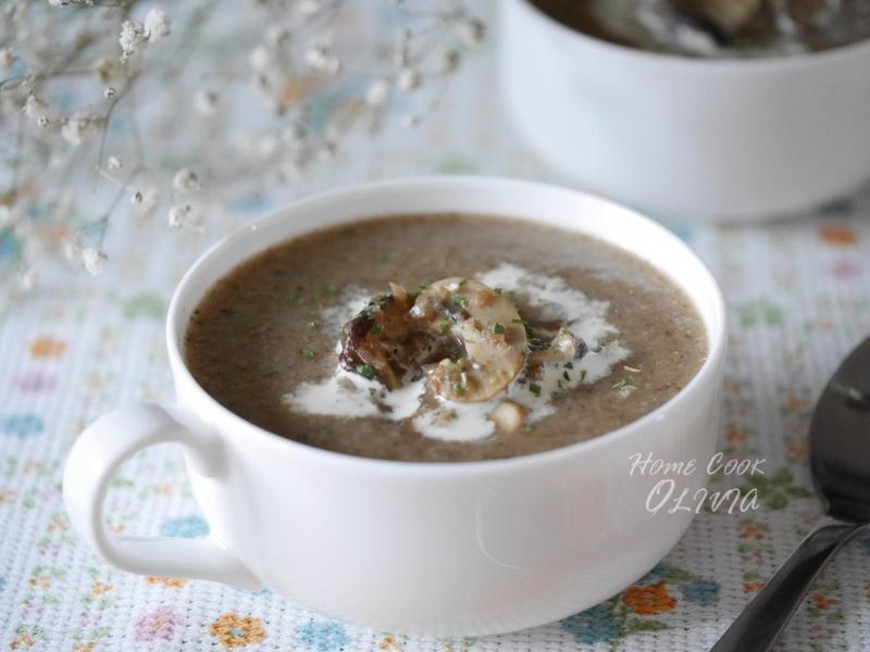 小廚娘♥牛肝蕈蘑菇濃湯#聖誕節