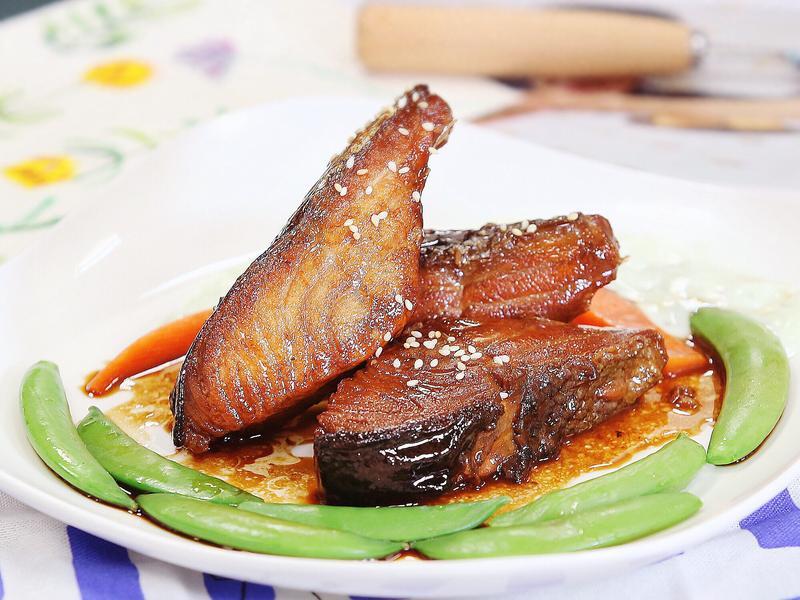 【料理公主病】芥末照燒鮭魚排