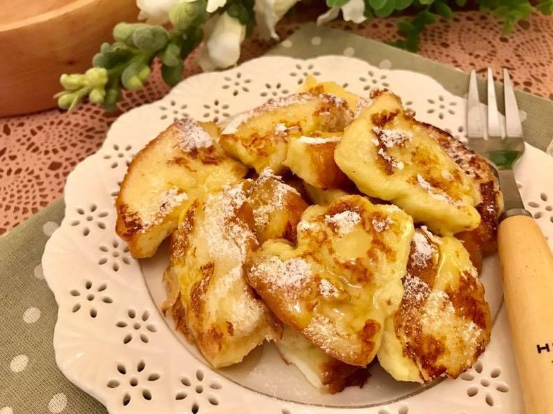 甜蜜早餐系列ღ奶油蜂蜜法式吐司