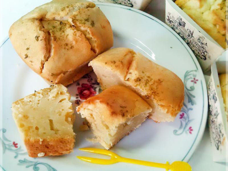 蜂蜜檸檬乳酪小蛋糕(免打發的快速蛋糕)