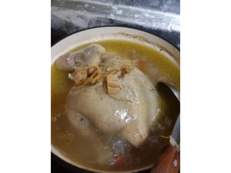 干貝人蔘雞湯