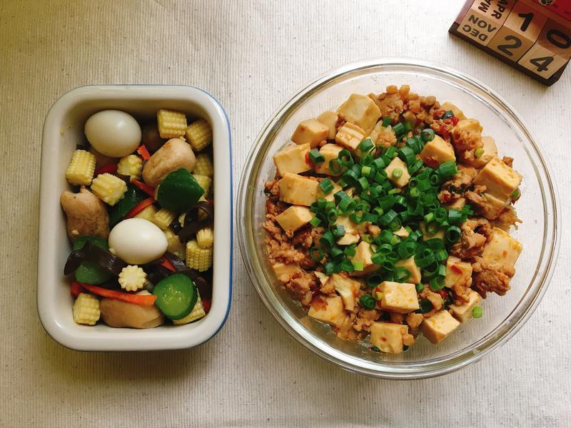 [每日便當]麻婆豆腐蓋飯