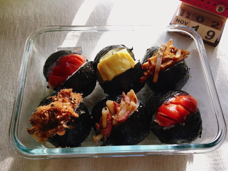 [每日便當]日式超可愛小飯糰