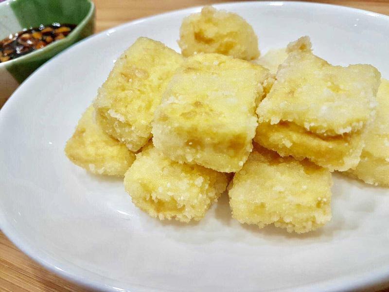 極簡~輕享受~台式炸豆腐